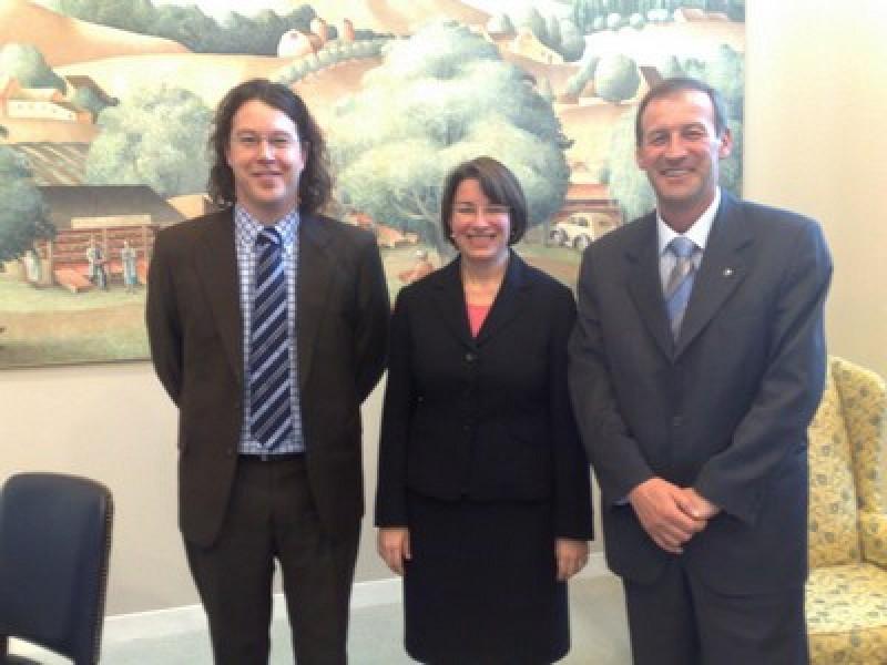 ITF meets US Senator Amy Klobuchar