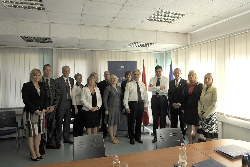 Visit of Austrian Federal Chancellor Fayman and Slovenian Prime Minister Pahor to ITF