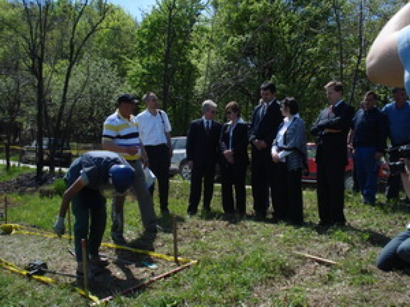 Opening Ceremony of Czech funded clearance activities in Bosnia and Herzegovina
