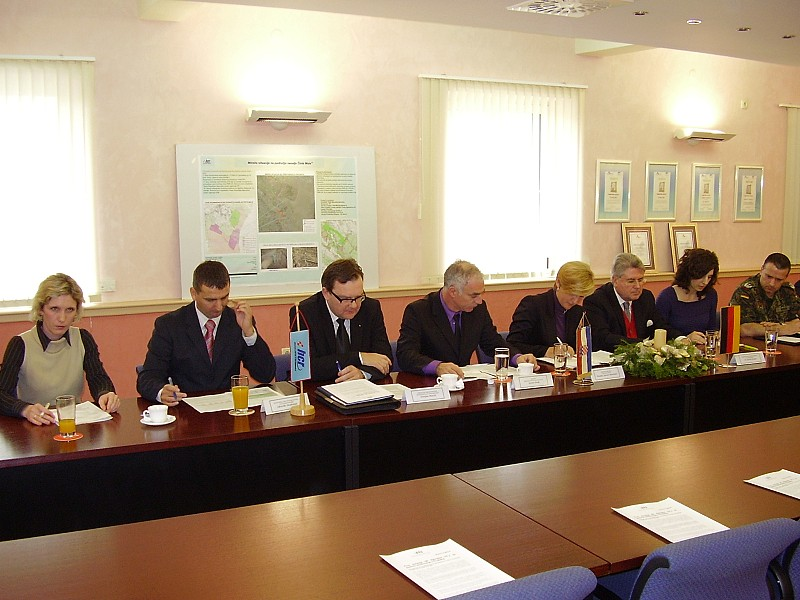 Official opening ceremony of the demining activities in Čista Mala community