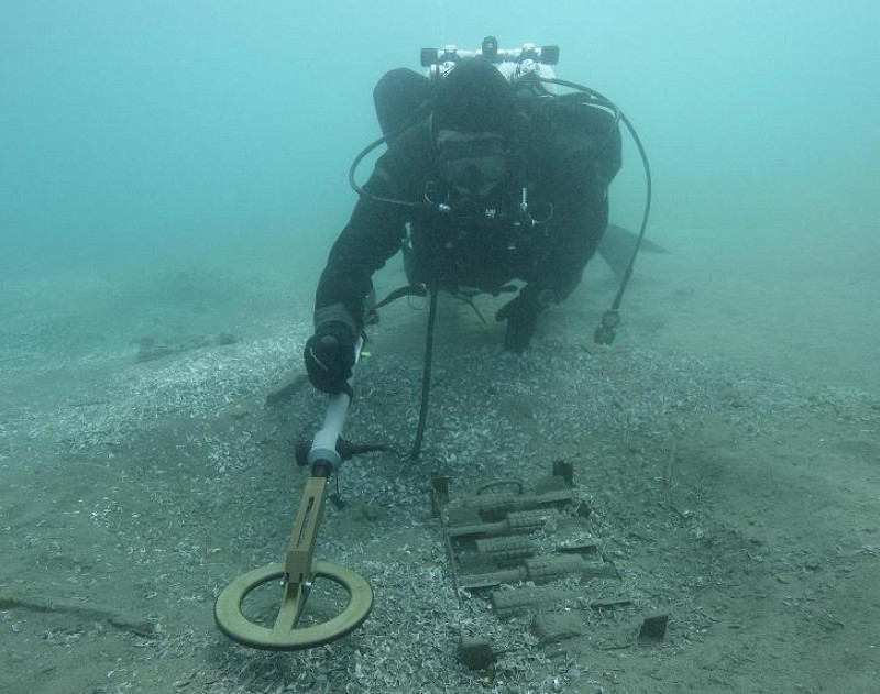 Completion of the Second Phase of Underwater UXO Clearance of Lake Ohrid