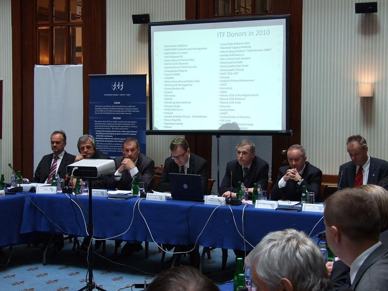 2nd ITF coordination meeting in Bosnia and Herzegovina