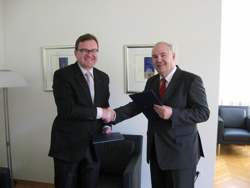 German donation to ITF