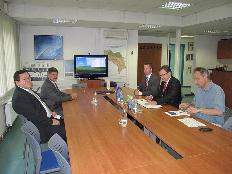 H.E. Mr Freddy Padilla de León, Ambassador of the Republic of Colombia to Austria visited ITF