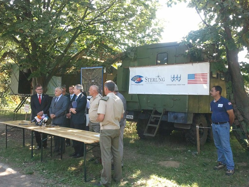 Press Conference at Chelopechene, Bulgaria