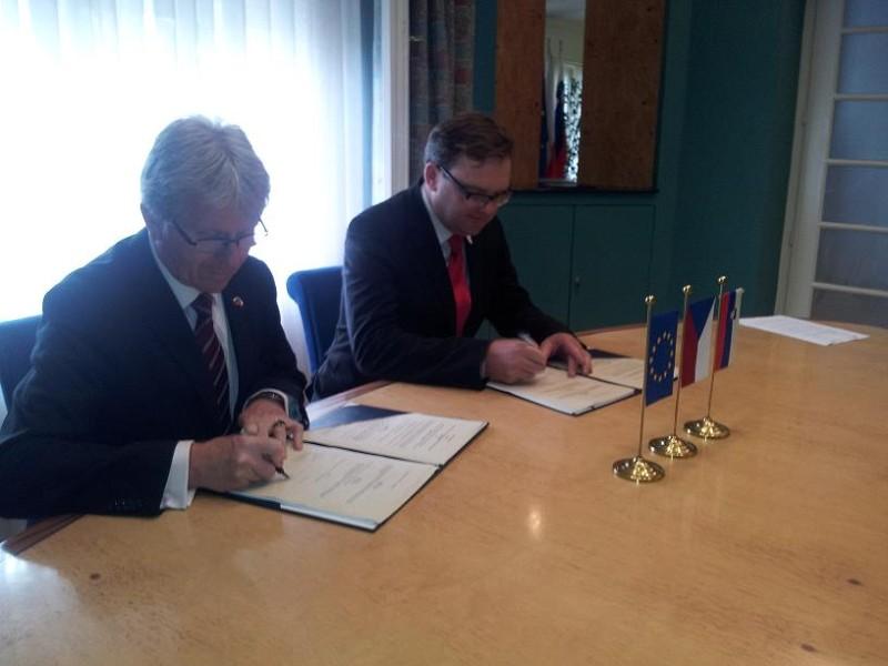 Czech Republic donation to ITF