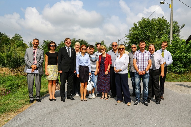 "Opening Ceremony of Demining Project ""Area of the Kotar forest"""