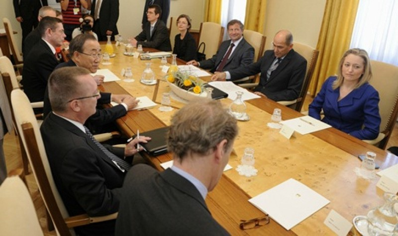 UN Secretary-General appreciated Slovenia`s contribution to demining activities through the ITF