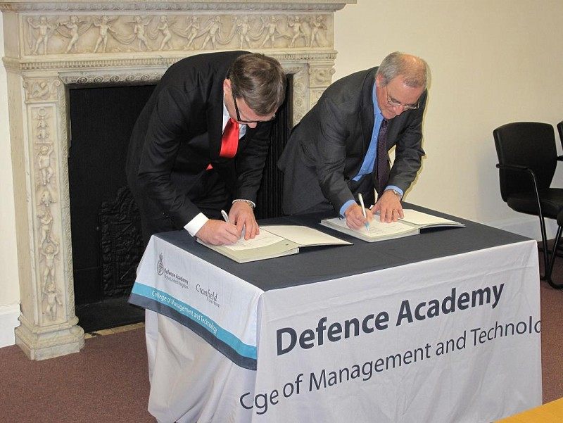 Memorandum of Understanding signed with Cranfield University