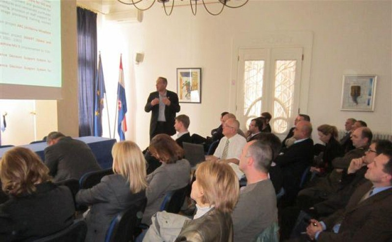 ITF representatives participated on the presentation of TIRAMISU project