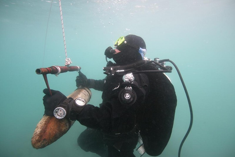 Completion of the third phase of underwater UXO clearance of Lake Ohrid