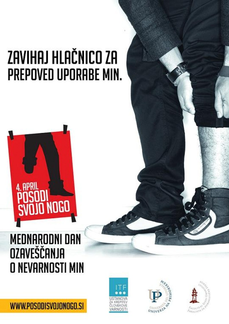Lend Your Leg campaign in Slovenia