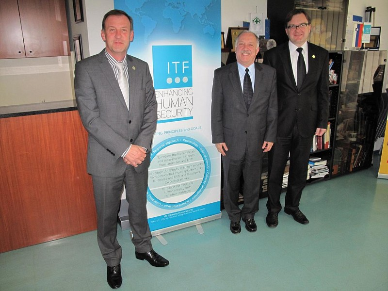 Ambassador of Brazil to Slovenia visit to ITF HQ