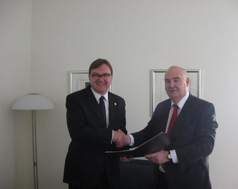 New donation of Germany to ITF