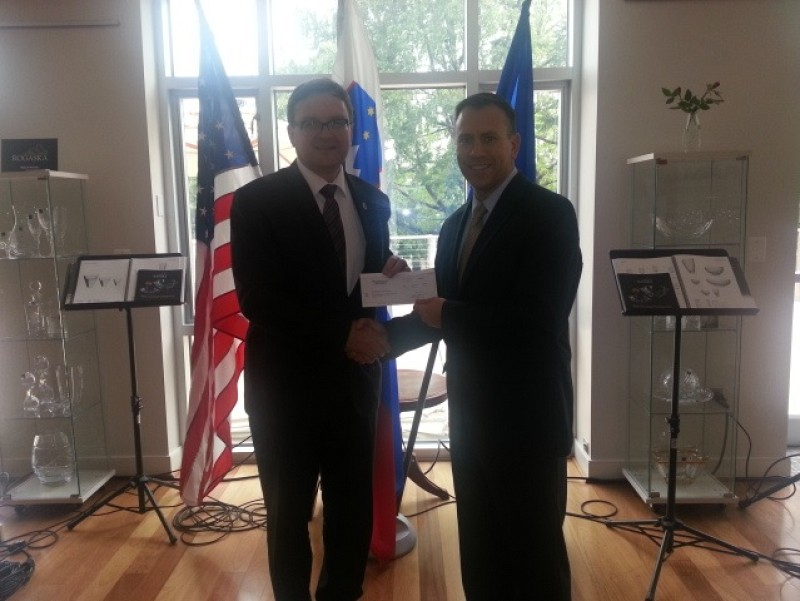 Sterling International Group, LLC donation to the ITF