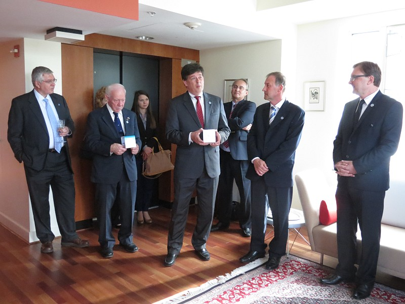 Reception in the U.S. to honor ITF`s 15th Anniversary
