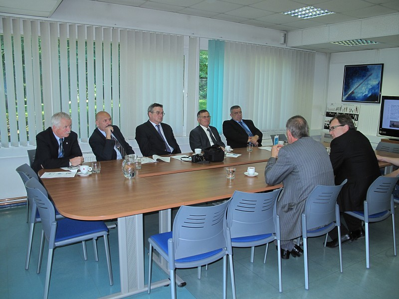 Croatian Officers Association visited ITF