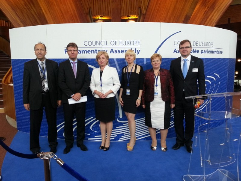 ITF drew attention on the problem of refugees at the Council of Europe
