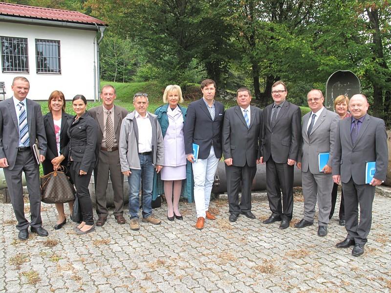Members of Slovenian Parliament visit ITF HQ