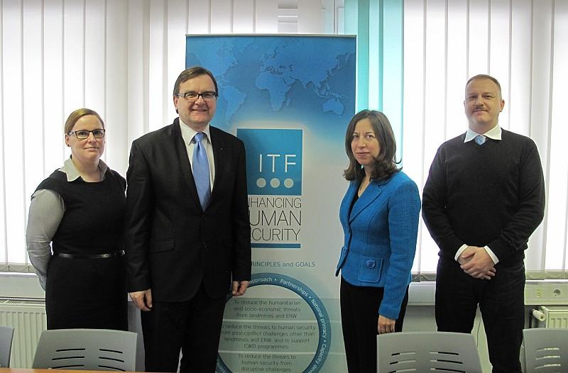 Ambassador of Canada H.E. Ms Lisa Helfand visited ITF