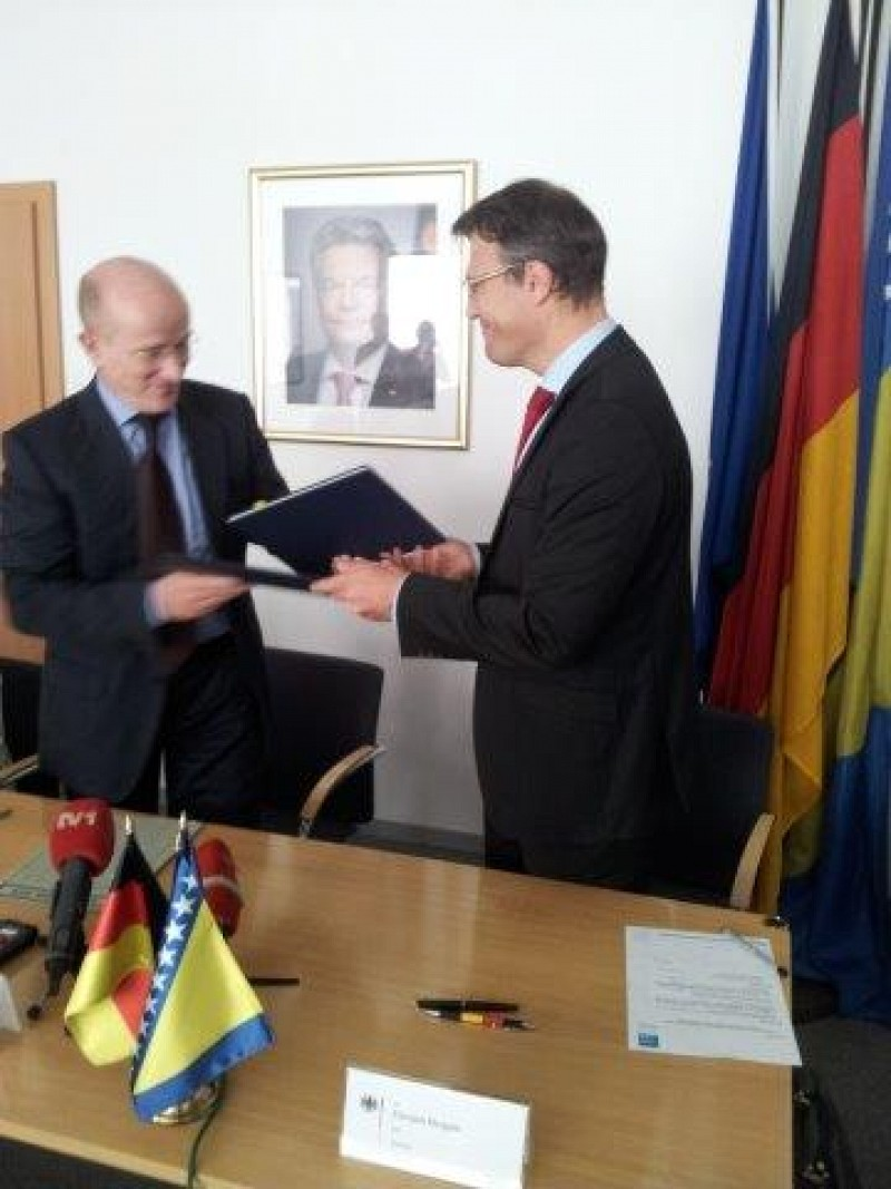Additional funding by FR Germany for projects in Bosnia and Herzegovina
