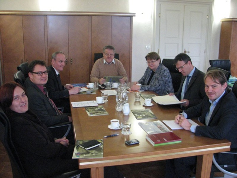 CEP hosted leaders of Foundations and International Institutions based in Slovenia