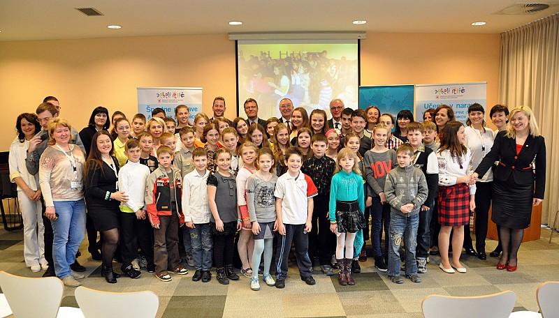 Enhancement of psychosocial wellbeing of children from Ukraine