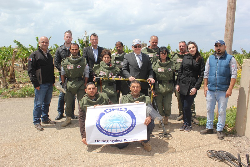OFID delegation visited ERW clearance projects in South Lebanon