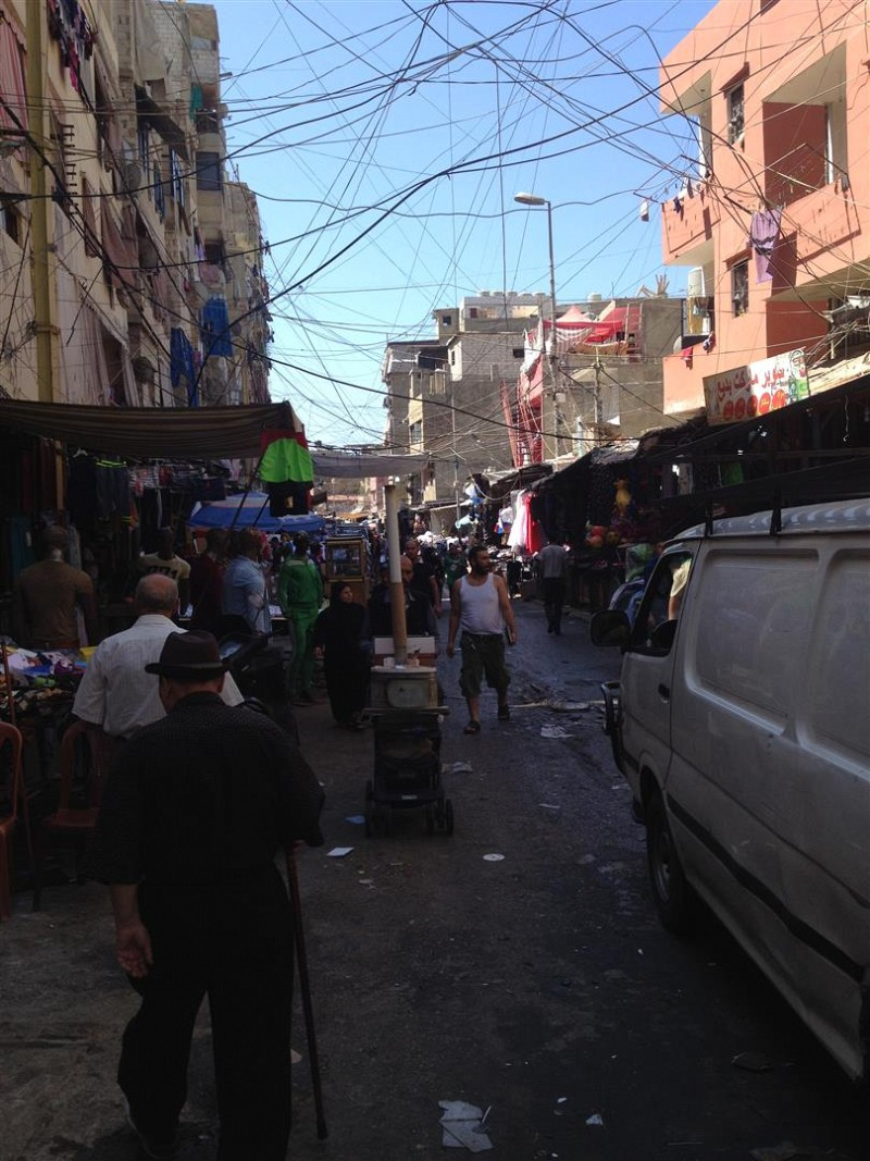 Shatila refugee camp, southern Beirut