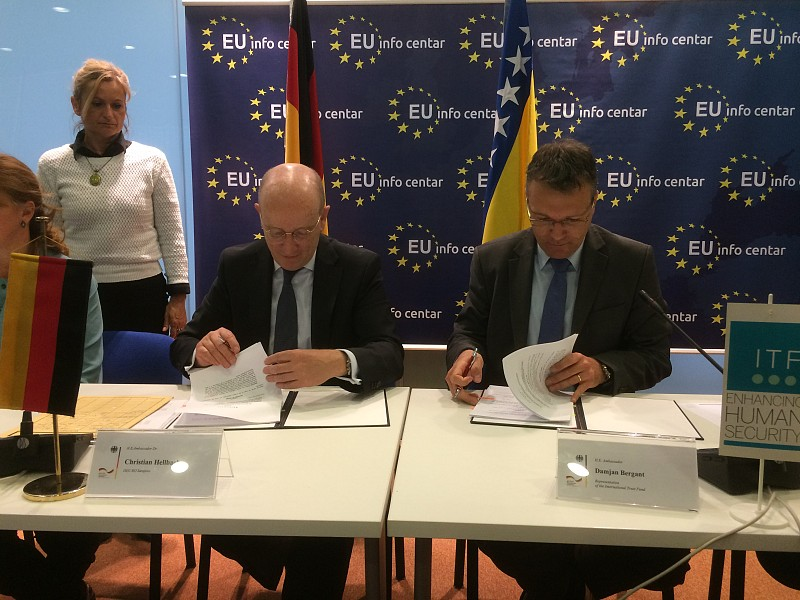 ITF Signed MoU with Germany
