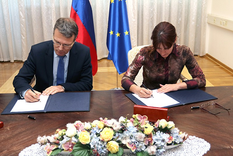 Slovenian Ministry of Defence and ITF Sign a Grant Contract