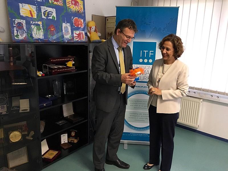 ITF Hosts Turkish Ambassador