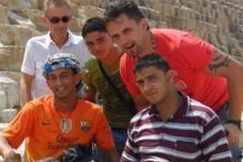 The ninth group of Gaza children at University Rehabilitation Institute of the Republic of Slovenia