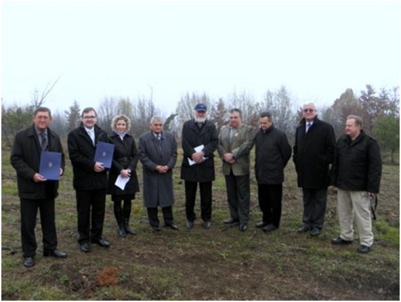 Demining certificate handed over to local community Josipdol, Croatia