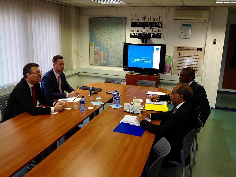 Hosting the Ambassador of the Cape Verde