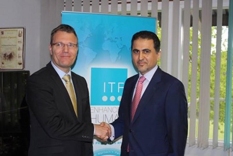 Ambassador Bergant and H.E. Mr Ali Khalfan Al-Mansouri