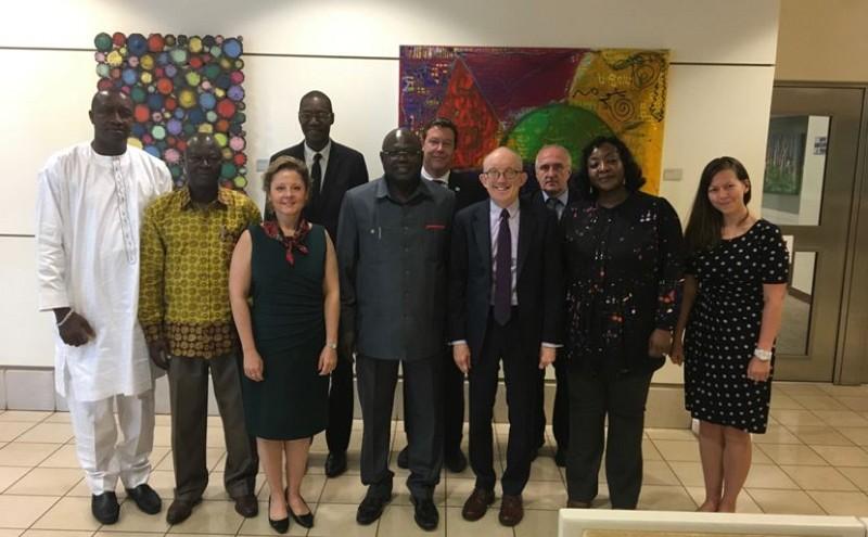 Representatives of ECOWAS, EWD, U.S. Government, Liberian Government, ITF, INL