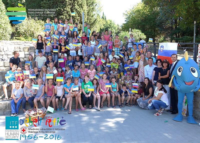 Ukrainian Children Receive Rehabilitation in Slovenia