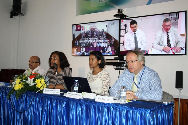Telemedicine Seminars in Cape Verde and Inauguration of Phase 1 of the Program