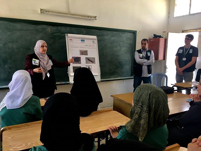 ITF Supports RE Workshops in Jordan
