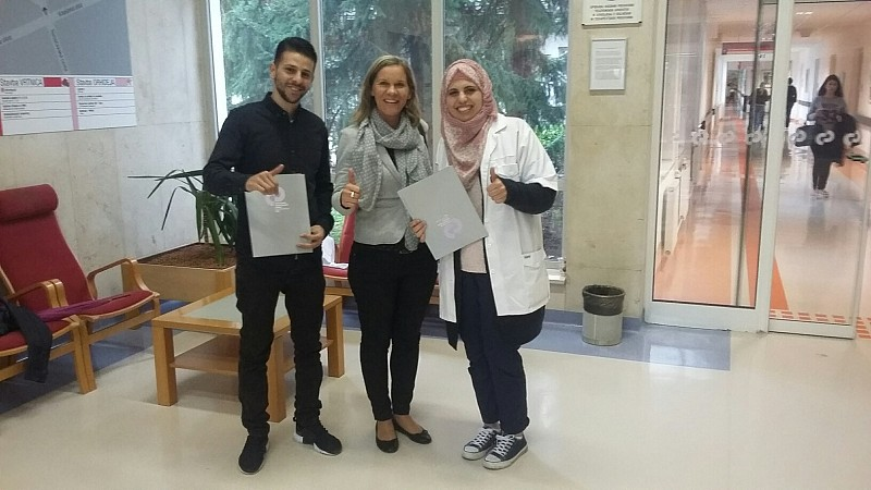 Physiotherapists from West Bank Receive Training at URI – Soča