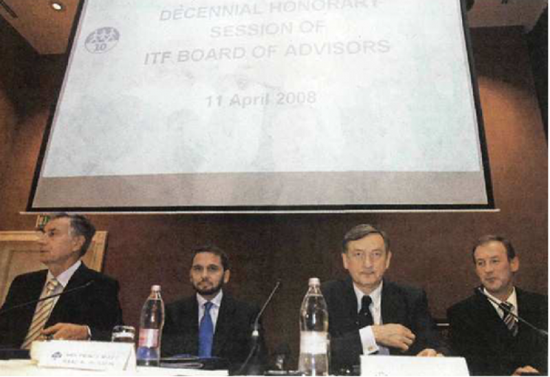 Decennial Honorary Session of ITF Board of Advisors