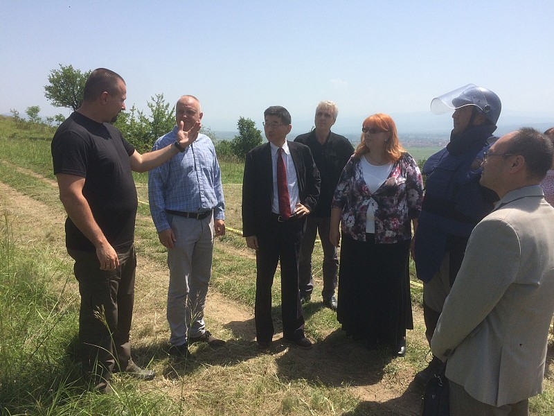 Japan Supports Mine Clearance Activities in Serbia