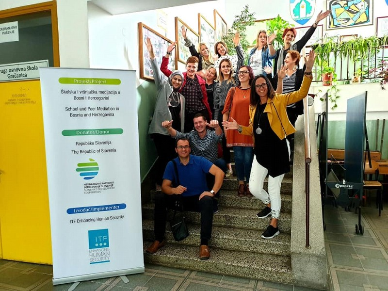 'School and Peer Mediation' Continues in Gračanica and Derventa