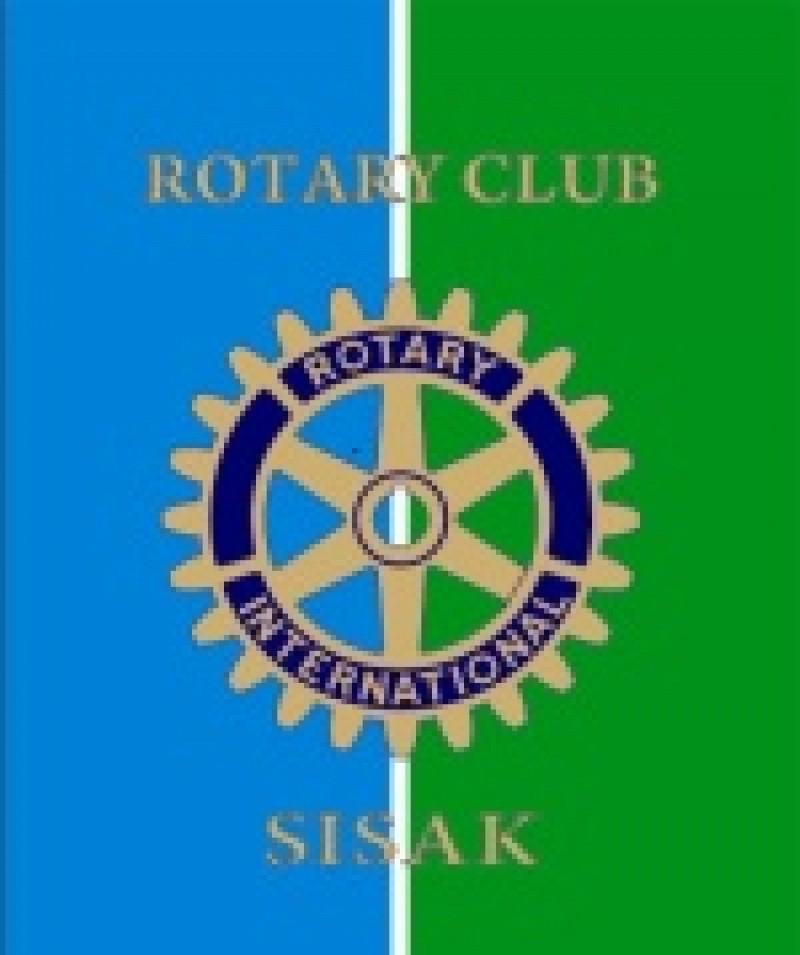 Sisak Rotary Club donation to the ITF