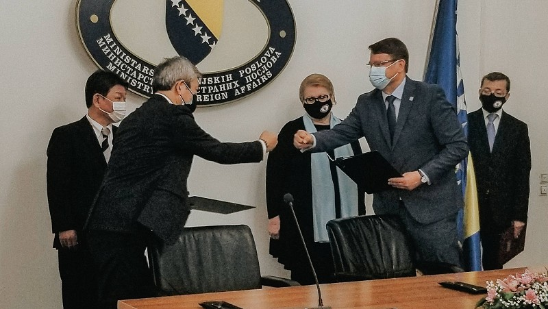 Japan Continues to Support ITF Enhancing Human Security in Bosnia and Herzegovina
