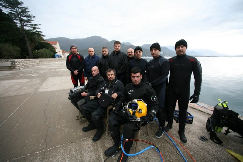 """""""Diver Training for Supervisors for Humanitarian Underwater Demining and Other Underwater works"""" in Bijela, Montenegro"""