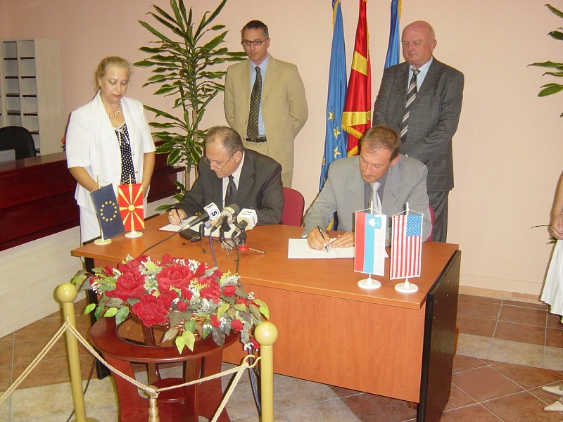 Memorandum of Understanding signed between ITF and Macedonia