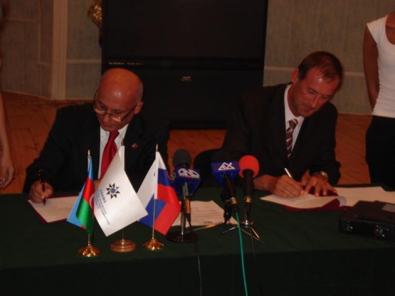 Memorandum of Understanding signed between ITF and Azerbaijan