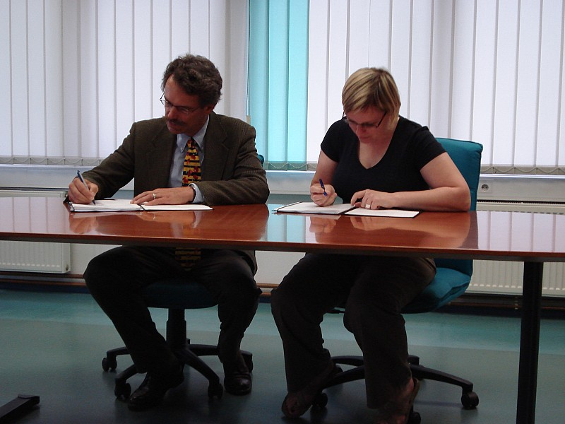 Partnership agreement between ITF and Clear Path International